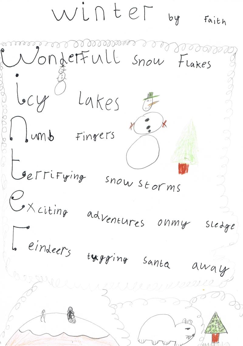 the nightmare before christmas acrostic poem creativepoem co